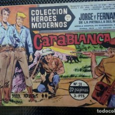 Tebeos: COMIC JORGE Y FERNANDO Nº 31 -ORIGINAL - EDT. DOLAR ( M-3). Lote 121884835