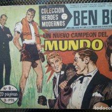 Tebeos: COMIC BEN BOLT Nº 8 -ORIGINAL - EDT. DOLAR 1958 (M- 3). Lote 121892107