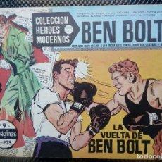 Tebeos: COMIC BEN BOLT Nº 9 -ORIGINAL - EDT. DOLAR 1958 (M- 3). Lote 121894235