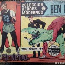 Tebeos: COMIC BEN BOLT Nº 20 -ORIGINAL - EDT. DOLAR 1958 (M- 3). Lote 121895583