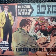 Tebeos: COMIC RIP KIRBY Nº6 - ORIGINAL - EDT. DOLAR 1958 (M-3). Lote 121897779