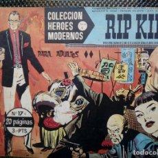 Tebeos: COMIC RIP KIRBY Nº17 - ORIGINAL - EDT. DOLAR 1958 (M-3). Lote 121899615