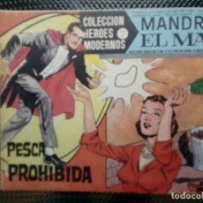 Tebeos: COMIC MANDRAKE EL MAGO Nº 11 - ORIGINAL - EDT. DOLAR 1958 (M-3). Lote 121907427