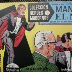 Tebeos: COMIC MANDRAKE EL MAGO Nº 21 - ORIGINAL - EDT. DOLAR 1958 (M-3). Lote 121908251