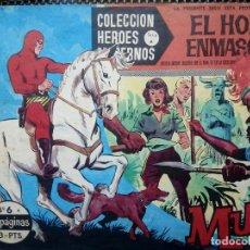 Tebeos: COMIC EL HOMBRE ENMASCARADO Nº 6- ORIGINAL - EDT, DOLAR 1958 (M-3). Lote 121912963