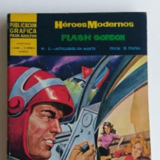 Tebeos: HÉROES MODERNOS I AÑO II ÉPOCA Nº 2 FLASH GORDON ED. DÓLAR. Lote 121921723