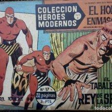 Tebeos: COMIC EL HOMBRE ENMASCARADO Nº 17 - ORIGINAL - EDT, DOLAR 1958 (M-3). Lote 121971355