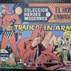 Tebeos: COMIC EL HOMBRE ENMASCARADO Nº 28 - ORIGINAL - EDT, DOLAR 1958 (M-3). Lote 121973099