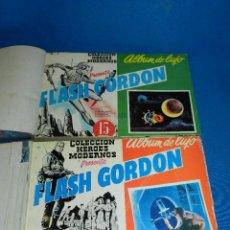 Tebeos: (M4) LOTE DE 12 NUMEROS ALBUM DE LUJO FLASH GORDON , EDT DOLAR , DEL 1 AL NUM 12. Lote 122784631