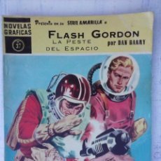 Tebeos: NOVELAS GRÁFICAS SERIE AMARILLA Nº 37 - FLASH GORDON - EDI. DOLAR 1960 - POR DAN BARRY. Lote 125963579