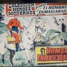 Tebeos: EL HOMBRE ENMASCARADO Nº 01 - ORIGINAL - EDT, DOLAR 1959 (M-3). Lote 128262091