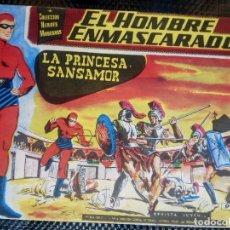 Tebeos: EL HOMBRE ENMASCARADO Nº 1 - ORIGINAL - EDT, DOLAR 1958 (M-3). Lote 128262883