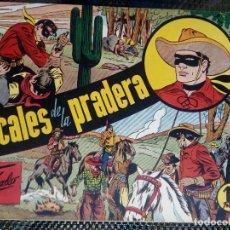 Tebeos: EL JINETE ENMASCARADO Nº6 - EDT. DOLAR - ORIGINAL 1958 (M 3). Lote 128263975