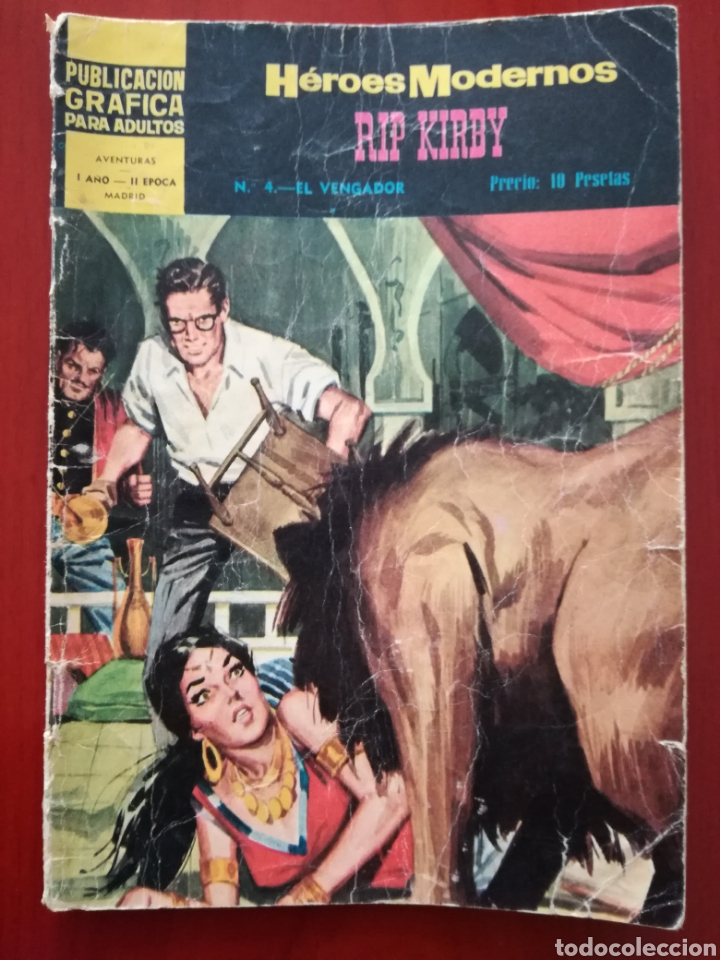 HÉROES MODERNOS, RIP KIRBY N°4 (Tebeos y Comics - Dólar)