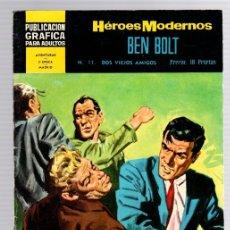 Tebeos: BEN BOLT POR JOHN CULLEN MURPHY. Nº 11. DOS VIEJOS AMIGOS. HEROES MODERNOS. DOLAR. AÑO 1960. Lote 130484703