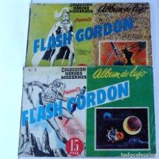 Tebeos: ÁLBUM DE LUJO – FLASH GORDON, Nº 5 Y Nº 7 – COLECCIÓN HÉROES MODERNOS. Lote 130848064