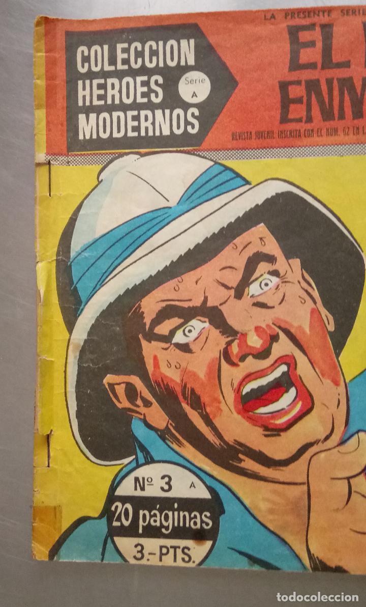 Tebeos: COMIC, EL HOMBRE ENMASCARADO, LA DERROTA DE SOLDAN, COLECCION HEROES MODERNOS , Nº 3, DOLAR - Foto 2 - 132687634