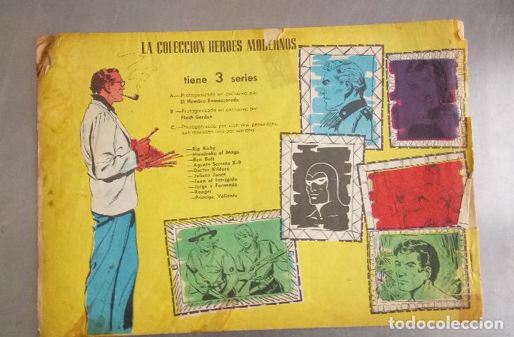 Tebeos: COMIC, EL HOMBRE ENMASCARADO, LA DERROTA DE SOLDAN, COLECCION HEROES MODERNOS , Nº 3, DOLAR - Foto 3 - 132687634