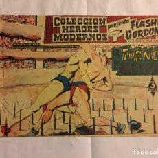 Tebeos: FLASH GORDON. Nº 4. EDITORIAL DÓLAR. 1958. Lote 133977105