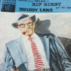 Tebeos: MELODY LANE Nº 15 ALEX RAYMOND EDIT DOLAR AÑO 1959. Lote 138000326
