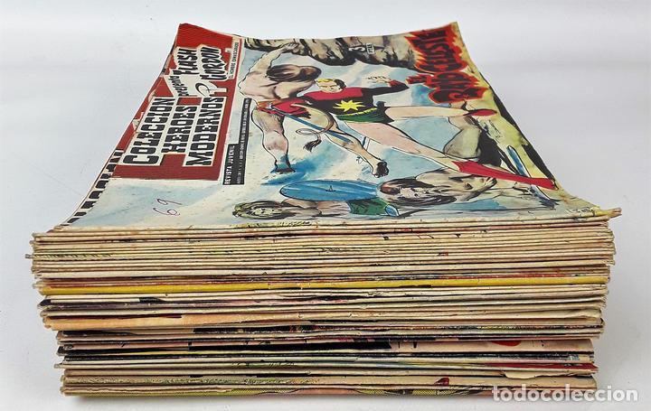 FLASH GORDON, Y EL HOMBRE ENMASCARADO. 67 EJEMPLARES. EDIT. DOLAR. MADRID. 1958. (Tebeos y Comics - Dólar)