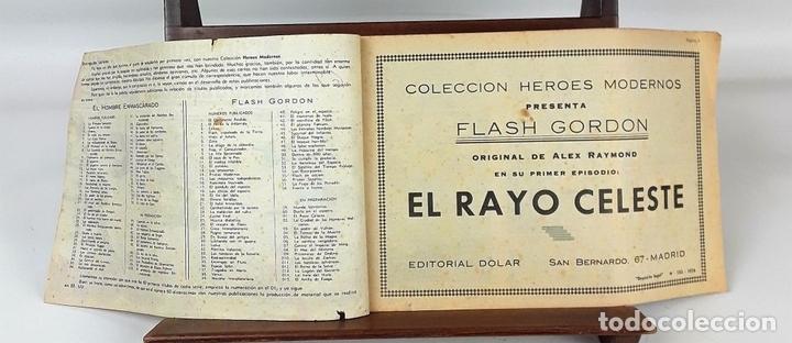 Tebeos: FLASH GORDON, Y EL HOMBRE ENMASCARADO. 67 EJEMPLARES. EDIT. DOLAR. MADRID. 1958. - Foto 5 - 138007478