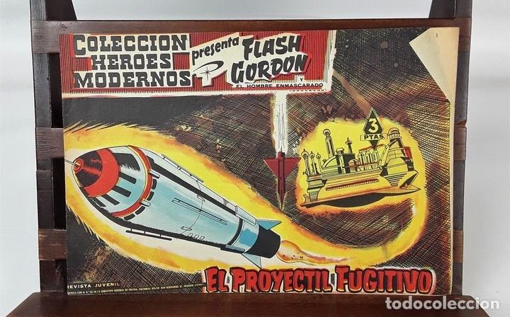 Tebeos: FLASH GORDON, Y EL HOMBRE ENMASCARADO. 67 EJEMPLARES. EDIT. DOLAR. MADRID. 1958. - Foto 6 - 138007478