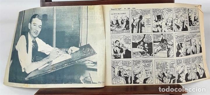 Tebeos: MERLIN EL MAGO MODERNO. 11 EJEMPLARES. EDITORIAL DÓLAR. MADRID. 1958. - Foto 5 - 138021994