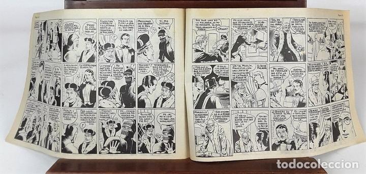 Tebeos: MERLIN EL MAGO MODERNO. 11 EJEMPLARES. EDITORIAL DÓLAR. MADRID. 1958. - Foto 6 - 138021994