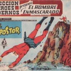 Tebeos: EL HOMBRE ENMASCARADO Nº 25: EL IMPOSTOR - ORIGINAL - COL. HEROES MODERNOS, ED. DÓLAR - AÑOS 50.. Lote 138892762