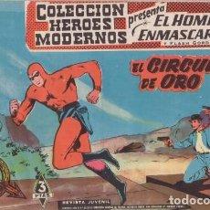 Tebeos: EL HOMBRE ENMASCARADO Nº 23: EL CIRCULO DE ORO - ORIGINAL - COL. HEROES MODERNOS - AÑOS 50.. Lote 138893082