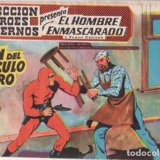 Tebeos: EL HOMBRE ENMASCARADO Nº 24: EL FIN DEL CIRCULO DE ORO - ORIGINAL - COL. HEROES MODERNOS - AÑOS 50.. Lote 138893394