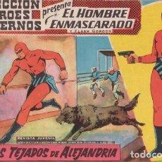 Tebeos: EL HOMBRE ENMASCARADO Nº 21: POR LOS TEJADOS DE ALEJANDRÍA - COL. HEROES MODERNOS - AÑOS 50.. Lote 138901354