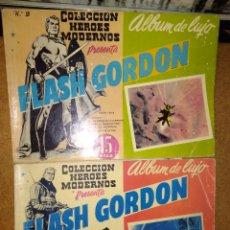Tebeos: FLASH GORDON LOS PRIMEROS DOS ALBUM DE LUJO EDITORIAL DOLAR. Lote 139765518