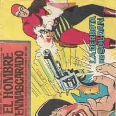 Tebeos: EL HOMBRE ENMASCARADO, SERIE A DE EDITORIAL DOLAR, AÑOS 60. Lote 139911686