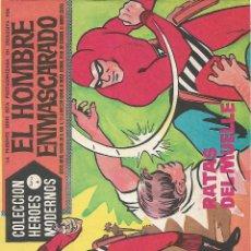 Tebeos: EL HOMBRE ENMASCARADO, SERIE A DE EDITORIAL DOLAR, AÑOS 60. Lote 139911802