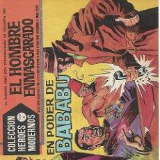 Tebeos: EL HOMBRE ENMASCARADO, SERIE A DE EDITORIAL DOLAR, AÑOS 60. Lote 139912354