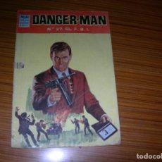 Tebeos: DANGER MAN Nº 27 EDITA DOLAR . Lote 139944246