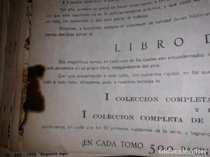 Tebeos: FLASH GORDON COLECCIÓN COMPLETA, AÑO 58, 70 Nos. ENCUADERNADA EN 2 TOMOS - Foto 12 - 140928126