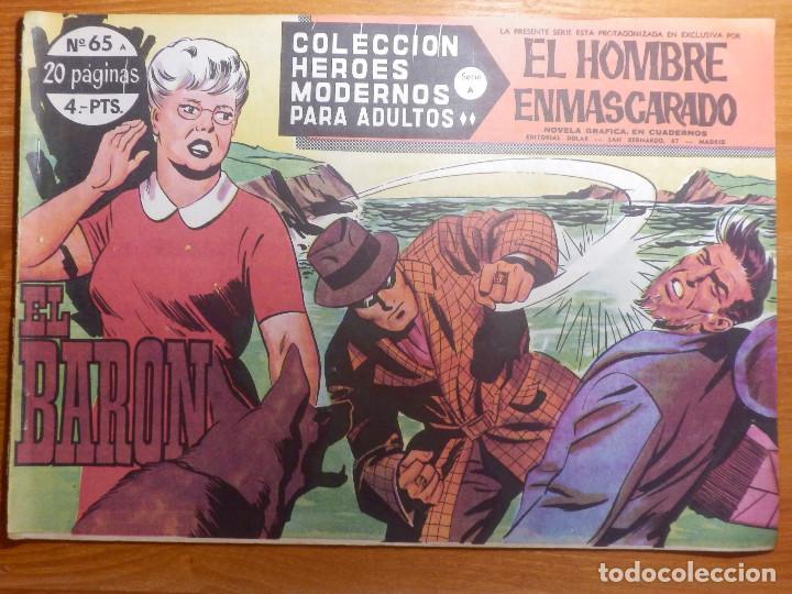 COMIC - TEBEO - EL HOMBRE ENMASCARADO - Nº 65 - EL BARÓN - DOLAR (Tebeos y Comics - Dólar)