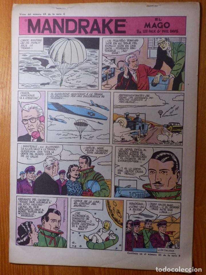 Tebeos: Comic - Tebeo - El Hombre enmascarado - Nº 65 - El Barón - Dolar - Foto 2 - 142161722
