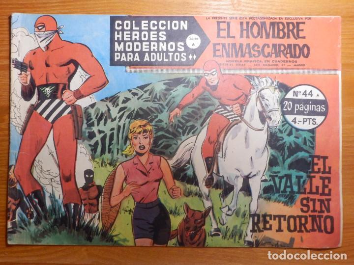COMIC - TEBEO - EL VALLE SIN RETORNO - Nº 44 - EL BARÓN - DOLAR (Tebeos y Comics - Dólar)