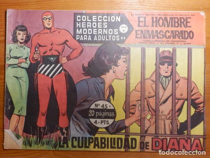 COMIC - TEBEO - EL VALLE SIN RETORNO - Nº 45 - LA CULPABILIDAD DE DIANA - DOLAR (Tebeos y Comics - Dólar)