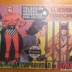 Tebeos: COMIC - TEBEO - EL VALLE SIN RETORNO - Nº 45 - LA CULPABILIDAD DE DIANA - DOLAR . Lote 142166734