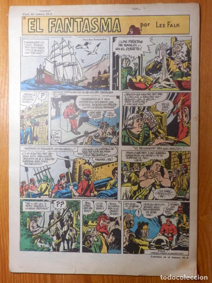 Tebeos: Comic - Tebeo - El Valle sin retorno - Nº 45 - La culpabilidad de Diana - Dolar - Foto 2 - 142166734
