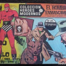 BDs: EL HOMBRE ENMASCARADO - HÉROES MODERNOS - Nº 39: EL ROBO DEL ANILLO. Lote 142823926