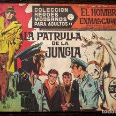 BDs: EL HOMBRE ENMASCARADO - HÉROES MODERNOS - Nº 53: LA PATRULLA DE LA JUNGLA. Lote 142925342