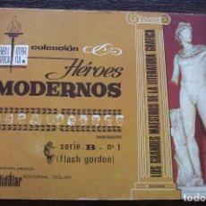 Tebeos: FLASH GORDON - COLECCIÓN HÉROES MODERNOS - SERIE B - Nº 1 - BUEN ESTADO. Lote 210337903