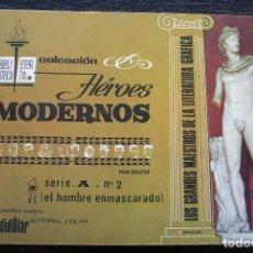 Tebeos: EL HOMBRE ENMASCARADO - COLECCIÓN HÉROES MODERNOS - SERIE A - Nº 2 - BUEN ESTADO. Lote 142999894