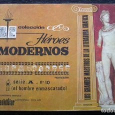Tebeos: EL HOMBRE ENMASCARADO - COLECCIÓN HÉROES MODERNOS - SERIE A - Nº 10. Lote 143003046